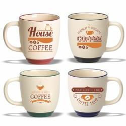 DM33 Coffee mug, 11 oz. Two...