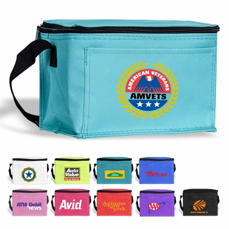 Dcb09 Cooler Bag 6 Can Portable Soft Insulated Bag