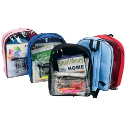 DBP35 CLEAR BACKPACK,...
