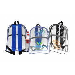 DBP37 CLEAR BACKPACK,...