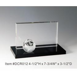 DCR012 Globe Panel Crystal...