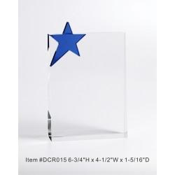 DCR015 Blue Star Crystal...