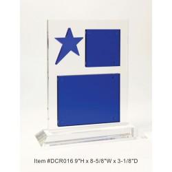 DCR016 Blue Dazzling Star...