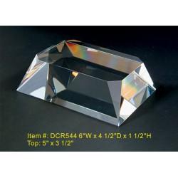 DCR544 Beveled Base Crystal...