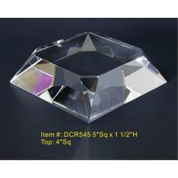 DCR545 Beveled Base Crystal...