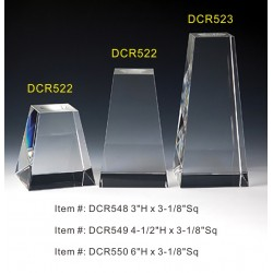 DCR549 Clear Tower Base...