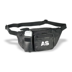 DFP08  Leather Fanny Pack,...