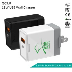 SCC07  18W Quick Charge USB...