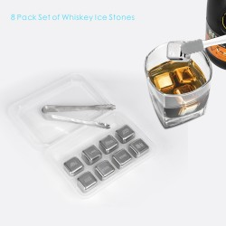 SIC04  8 PCS Whiskey Ice...