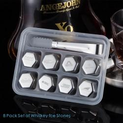 IC07  8 PCS Whiskey Ice...