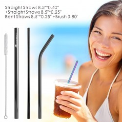 4 Pack Stainless Steel...