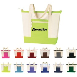 DTB41 Tote Bag with Zipper,...