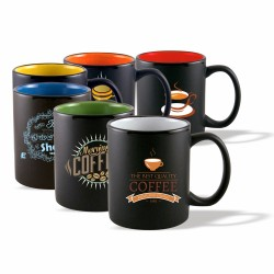 DM66 Coffee mug, 11 oz. Two...