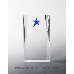 DCR001 Blue Glaring Star...