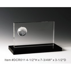 DCR011 Globe Panel Crystal...