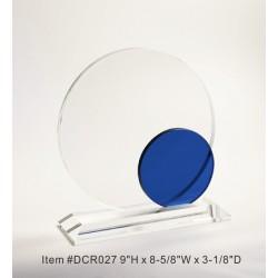 DCR027 Blue Corona Crystal...