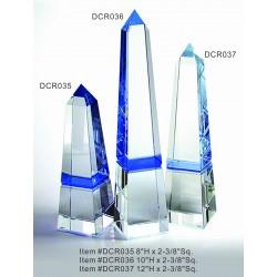 DCR035 Blue Obelisk Optical...