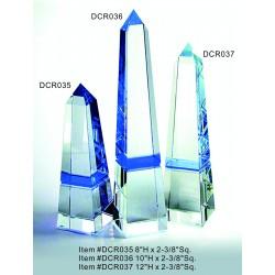 DCR037 Blue Obelisk Optical...