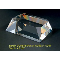 DCR544 Beveled Base Crystal...