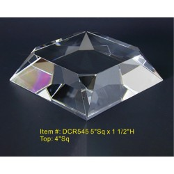 DCR545 Beveled Base Crystal...