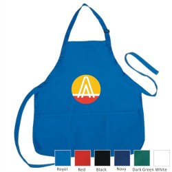DAP02  Poly-Cotton Apron w/...