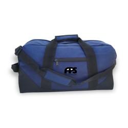 DDB71  Two Tone Duffle Bag,...