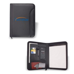 DPO13  Zippered Padfolio,...