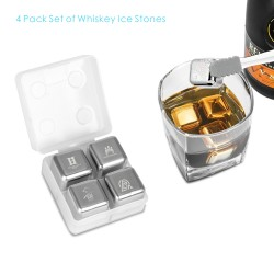 IC01  4 PCS Whiskey Ice...
