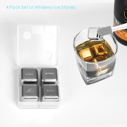 SIC01  4 PCS Whiskey Ice...