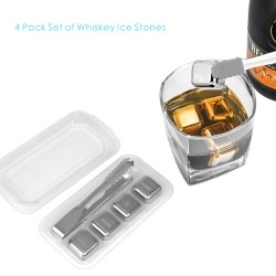 IC02  4 PCS Whiskey Ice...