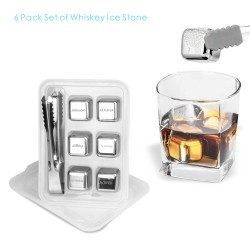 SIC03  6 PCS Whiskey Ice...