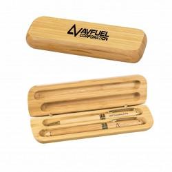 DGS05  Bamboo Case w/Pen &...