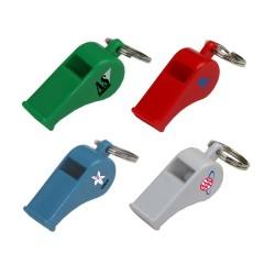 DKR04  Plastic Whistle Keyring