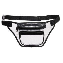 DFP05 3-Zipper Clear Fanny...