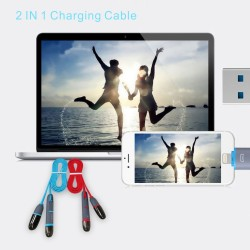 CB01 3.3Ft/1M 2-in-1 iPhone...