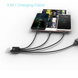 SCB09 Short 3 in 1 Charging...